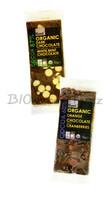 Plamil Foods Čokoláda hořká 60% BIO pomeranč s brusinkami