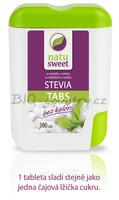 Natusweet Sladidlo ze stévie, 300 tablet dávkovač