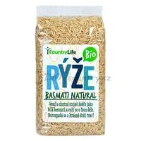 Country Life Rýže basmati hnědá BIO