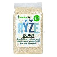 Country Life Rýže basmati bílá BIO