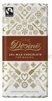 Divine Mléčná čokoláda na vaření a pečení